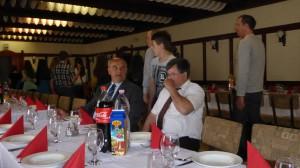 """Mittagessen im Restaurant """"Bástya"""""""
