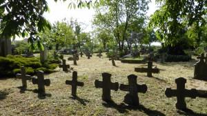 Karnzniederlegung am alten Friedhof